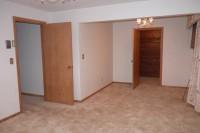 master bedroom with cedar walk in closet