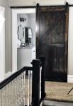 upstairs bathroom barn door