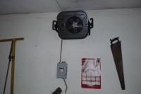 heater in detached 31' x 33' garage