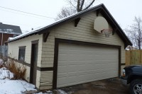 22' x 26' detached garage